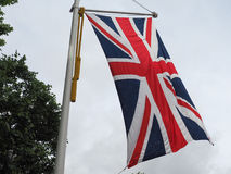 flaga Zjednoczone Królestwo aka Union Jack (UK) Obrazy Royalty Free