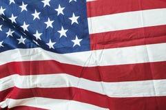 Flaga Zlany stan Ameryka obrazy royalty free