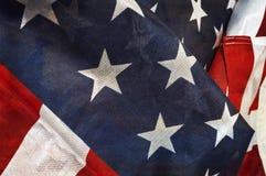 Flaga Zlany stan Ameryka zdjęcia royalty free