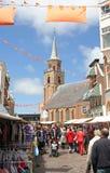 flagday Scheveningen Obraz Royalty Free