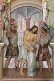 Flagellation of Christ Stock Photos