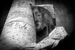 Flagellation of Jesus statue Royalty Free Stock Photography