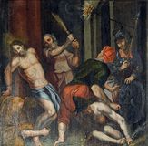 Flagellazione di Cristo Fotografie Stock Libere da Diritti