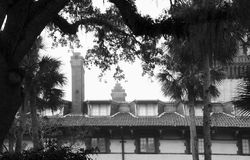Flager College in St. Augustine. With Trees Royalty Free Stock Photography