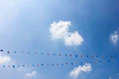 Flages de Tailândia imagens de stock royalty free