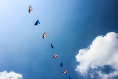 Flages de Tailândia Imagem de Stock Royalty Free