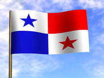 flagga Royaltyfri Fotografi