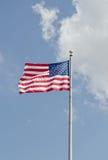 Flagga av Amerika Arkivfoton