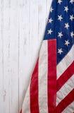 Flagga av Amerikas förenta stater Fotografering för Bildbyråer