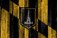 Flagga av Baltimore Arkivfoton