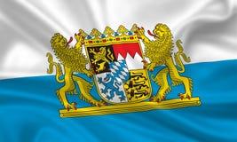 Flagga av Bayern Arkivbild