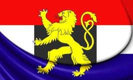 Flagga av Benelux royaltyfri illustrationer