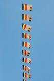 Flagga av buddism Royaltyfria Bilder