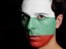 Flagga av Bulgarien Royaltyfri Fotografi