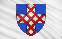 Flagga av Cholet, Frankrike arkivfoton