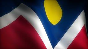 Flagga av Colorado Denver vektor illustrationer
