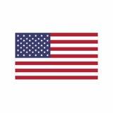 Flagga av den eniga staten av Amerika Fotografering för Bildbyråer