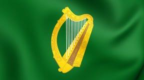 Flagga av det Leinster landskapet, Irland vektor illustrationer