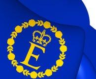 Flagga av EIIR vektor illustrationer