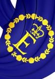 Flagga av EIIR stock illustrationer