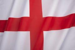 Flagga av England - Förenade kungariket Royaltyfri Bild