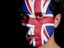 Flagga av Förenade kungariket Royaltyfri Foto