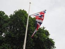 flagga av Förenade kungariket (UK) aka Union Jack Royaltyfri Bild