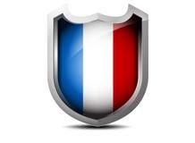 Flagga av Frankrike Royaltyfria Foton