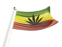 Flagga av frihet Royaltyfri Foto