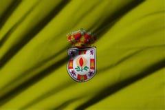 Flagga av Granada Royaltyfri Fotografi