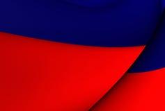 Flagga av Haiti stock illustrationer