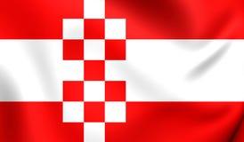 Flagga av Hammen, Tyskland stock illustrationer