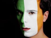 Flagga av Irland Arkivfoton