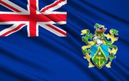 Flagga av Isla de Pascua Chile, Hanga Roa - Polynesien royaltyfri foto