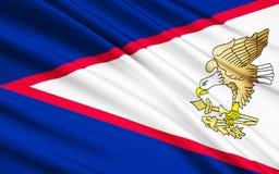 Flagga av Isla de Pascua Chile, Hanga Roa - Polynesien royaltyfria bilder