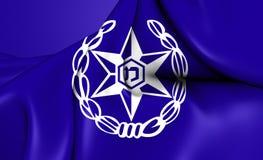 Flagga av Israel Police Royaltyfria Foton