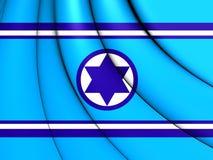 Flagga av israeliskt flygvapen vektor illustrationer