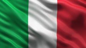 Flagga av Italien den sömlösa öglan stock illustrationer