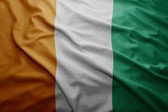 Flagga av ` Ivoire för skjul D Royaltyfria Foton