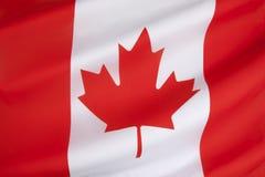Flagga av Kanada Arkivbilder
