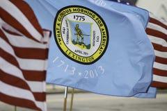 Flagga av Lexington Arkivfoton