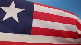 Flagga av Liberia - flagga av bekvämlighet vektor illustrationer