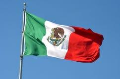 Flagga av Mexico Royaltyfria Bilder