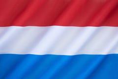 Flagga av Nederländerna Arkivbilder