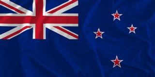 Flagga av nyazeeländsk bakgrund vektor illustrationer