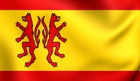 Flagga av Peinen, Tyskland royaltyfri illustrationer