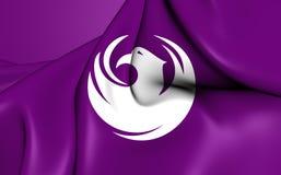 Flagga av Phoenixen, USA stock illustrationer