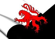 Flagga av Poitou, Frankrike vektor illustrationer