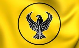 Flagga av Pontusen stock illustrationer