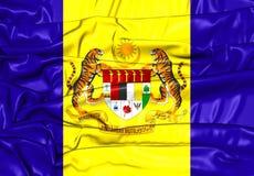 Flagga av Putrajaya, Malaysia Fotografering för Bildbyråer